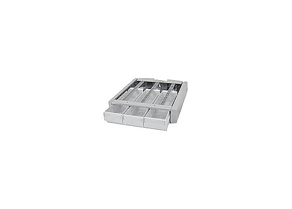 Ergotron StyleView Supplemental Storage Drawer, Triple - mounting component