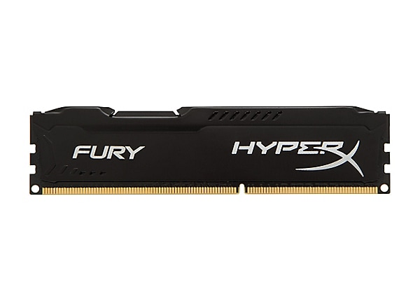 HyperX FURY - DDR3 - 8 GB: 2 x 4 GB - DIMM 240-pin - unbuffered