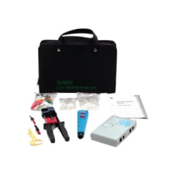 StarTech.com Professional RJ45 Network Install Tool Kit with Carrying Case