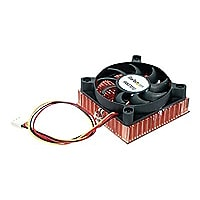 StarTech.com 1U 60x10mm Socket 7/370 CPU Cooler Fan w/ Copper Heatsink & TX