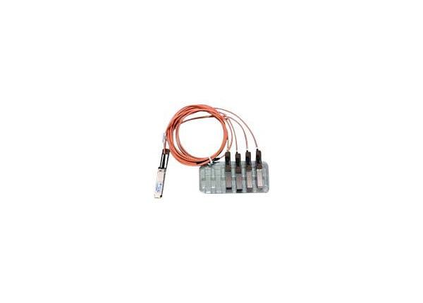 Cisco Direct-Attach Breakout Cable - network cable - 3 m - orange