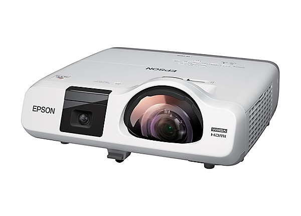 Epson BrightLink 536Wi Interactive - 3LCD projector - LAN