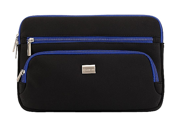 "Griffin Zippered Carry Case for 11.6"" Black / Blue"