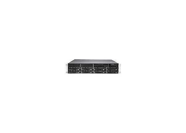 Supermicro SuperServer 6028R-TRT - rack-mountable - no CPU - 0 MB