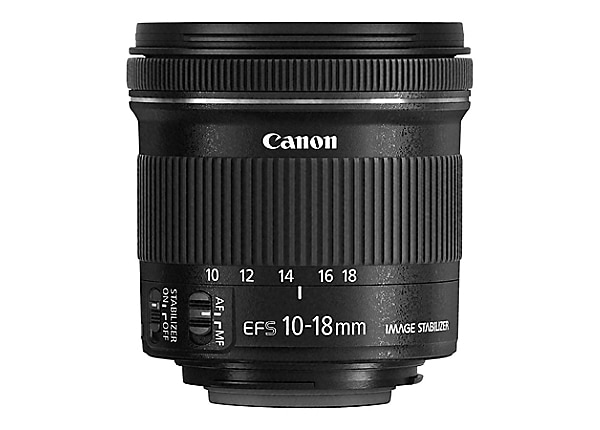 Canon EF-S wide-angle zoom lens - 10 mm-18 mm