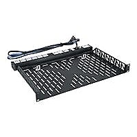 Middle Atlantic rack shelf - 1U