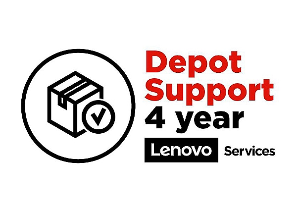 Lenovo Expedited Depot Repair - extended service agreement - 4 years - pick