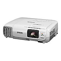 Epson PowerLite 98H - 3LCD projector - portable - LAN