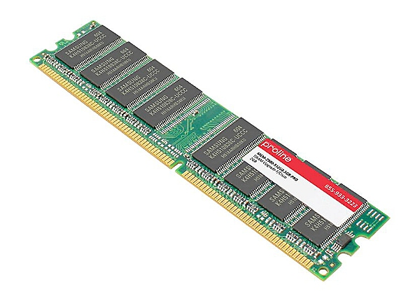 Proline - DDR2 - 2 GB - DIMM 240-pin - unbuffered
