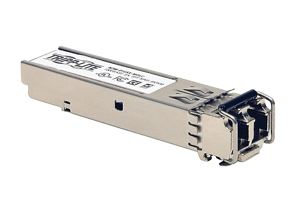 Tripp Lite SFP Transceiver MM Fiber Cisco Compatible 1000Base-SX 550M LC