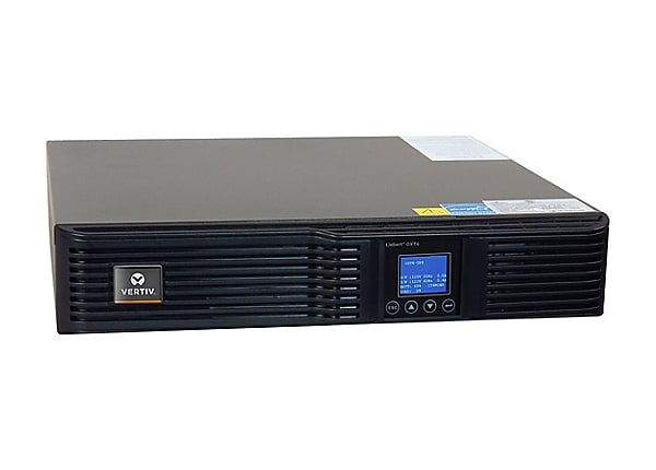 Vertiv Liebert GXT4, 3000VA/2700W, 208V Double-Conversion Rack/Tower UPS