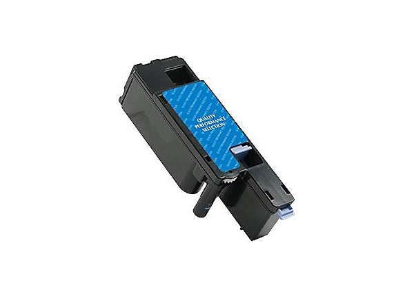 Clover Remanufactured Toner for Dell C1660W, Cyan, 1,000 page yield