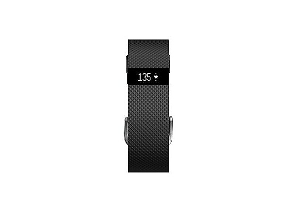 Fitbit Charge HR Large activity tracker - black