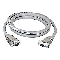 Black Box 10ft RS232 DB9 F/F Straight Through Shielded Serial Cable, 10'