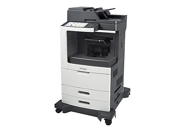 Lexmark MX810de - multifunction printer - B/W