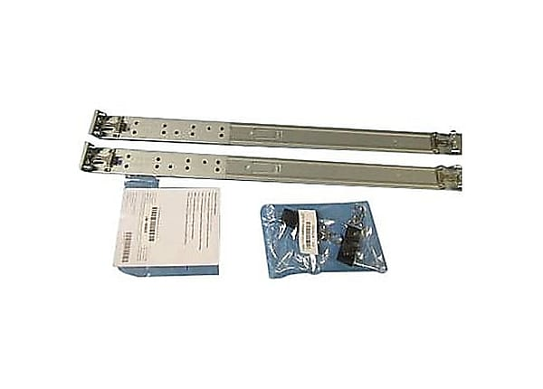 HPE Friction Rail Kit - rack rail kit - 1U