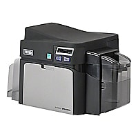 Fargo DTC 4250e - plastic card printer - color - dye sublimation/thermal re