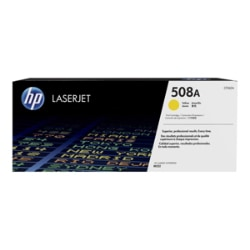 HP 508A - yellow - original - LaserJet - toner cartridge (CF362A)