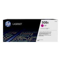 HP 508X - High Yield - magenta - original - LaserJet - toner cartridge (CF3