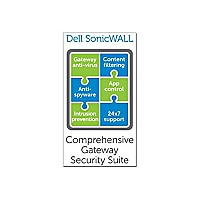 SonicWall Comprehensive Gateway Security Suite for SonicWALL NSA 3600 - sub