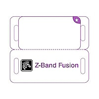 Zebra Z-Band Fusion - wristbands - 1000 pcs. - 1.63 in x 0.75 in