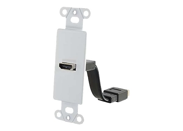 C2G HDMI Pass Through Wall Plate - mounting plate