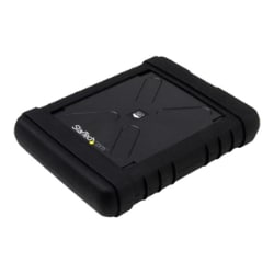 StarTech.com Rugged Hard Drive Enclosure - USB 3.0 to 2.5in SATA 6Gbps
