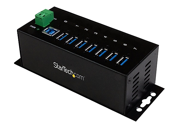 StarTech.com 7 Port Industrial USB 3.0 Hub - ESD and Surge Protection