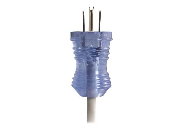 C2G 10ft 16 AWG Hospital Grade Power Cord (NEMA 5-15P to IEC320C13) - Gray