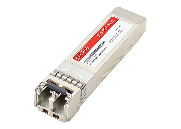 Proline Aerohive AH-ACC-SFP-10G-SR Compatible SFP+ TAA Transceiver - SFP+ t