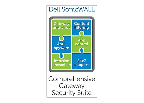 SonicWall Comprehensive Gateway Security Suite for SonicWALL NSA 5600 - sub