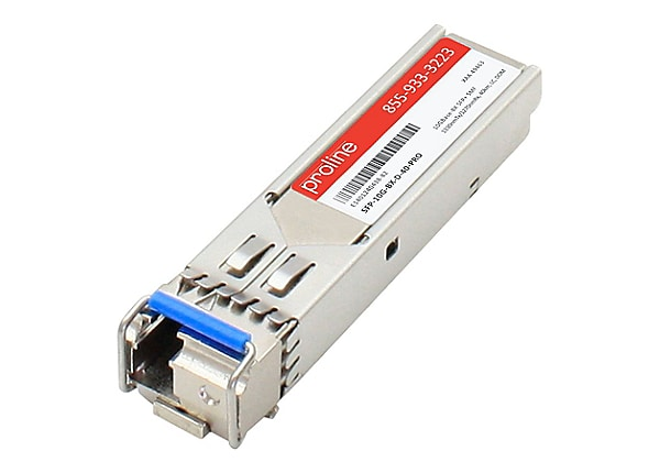 Proline Cisco SFP-10G-BX-D-40 Compatible SFP+ TAA Compliant Transceiver - S