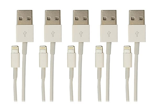 VisionTek Lightning cable - Lightning / USB - 3.3 ft
