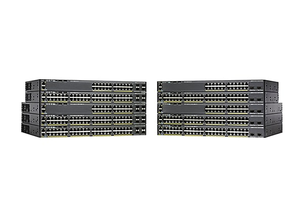 Cisco ONE Catalyst 2960X-48LPS-L - switch - 48 ports - managed - rack-mount