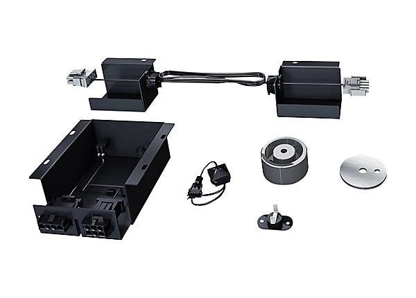 APC rack ceiling panel lock system
