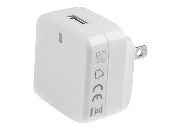 StarTech.com White USB Wall Charger - Quick Charge 2.0 - 110V/220V Charger
