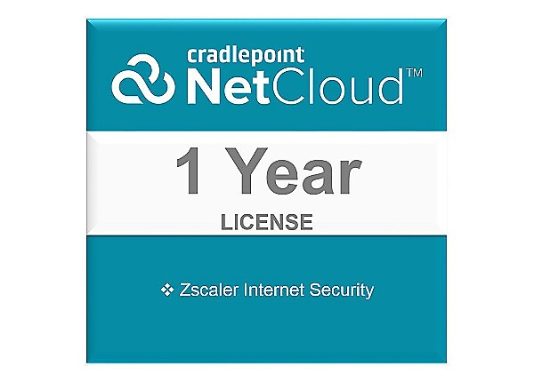 Cradlepoint Zscaler Internet Security - subscription license (1 year) - 1 d