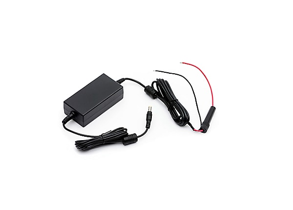 KIT, Acc DC-DC vehicle adapter, open ended, 12~24V,QLn/ZQ5/ZQ6 Series
