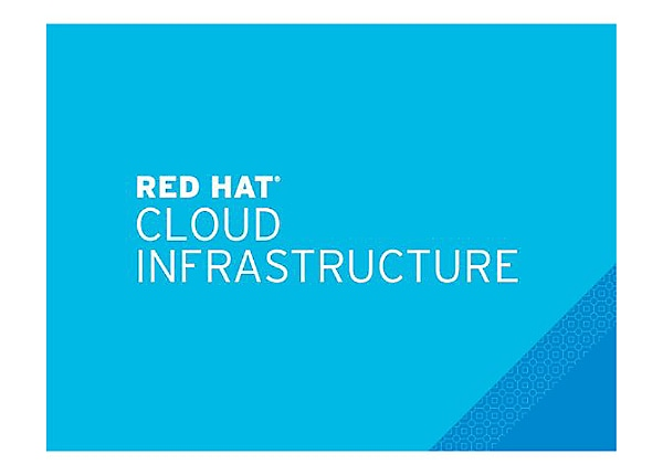Red Hat Cloud Infrastructure - standard subscription - 2 sockets - with Sma