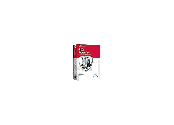 McAfee Total Protection 2015 - box pack ( 1 year )