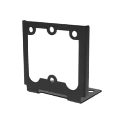 RF IDeas Black Angle Bracket for WAVE ID Solo and WAVE ID Plus Reader - RF