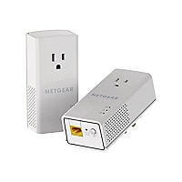 NETGEAR Powerline 1200 + Extra Outlet (PLP1200-100PAS)