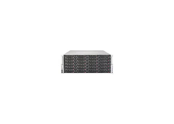 Supermicro SuperServer 6048R-E1CR36L - rack-mountable - no CPU - 0 MB