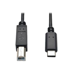 Tripp Lite 6ft USB 2.0 Hi-Speed Cable B Male to USB Type-C USB-C Male 6'