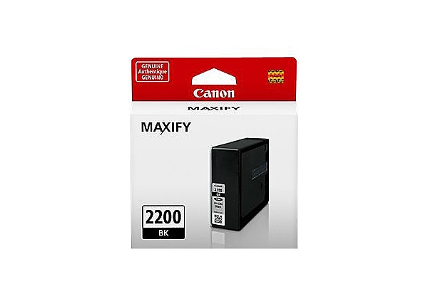 Canon PGI-2200 BK - black - original - ink tank