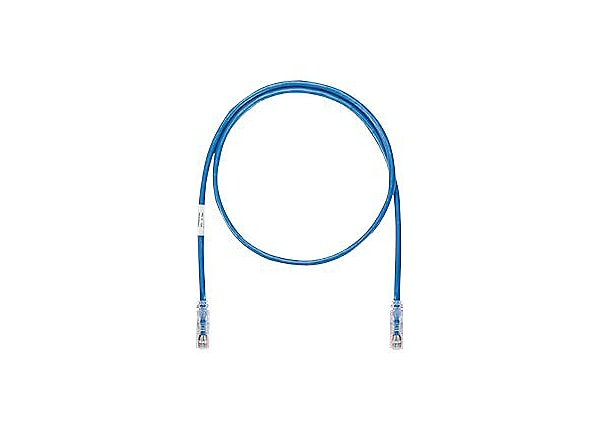Panduit TX6A-SD 10Gig with MaTriX Technology - patch cable - 4 ft - blue