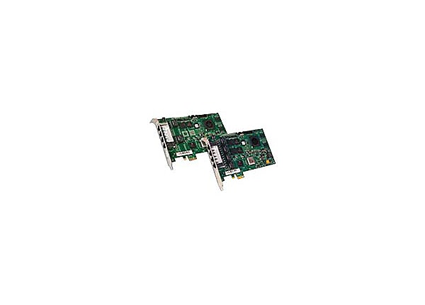 Dialogic HMP Interface Board DNI2410TEPE2HMP - voice/fax board - T1/E1