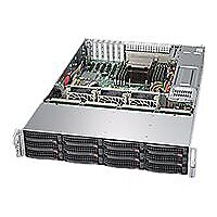 Supermicro SuperStorage Server 6028R-E1CR12H - rack-mountable - no CPU - 0