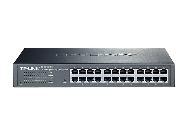 TP-Link JetStream TL-SG1024DE - switch - 24 ports - rack-mountable