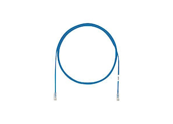 Panduit TX6A-28 Category 6A Performance - patch cable - 10 ft - blue